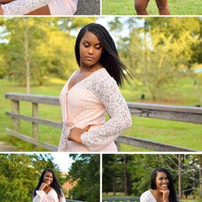 Shedriana   Natural Light #SeniorPortraits by Desire Anne Photography // Luxury Senior Photographer located in Mobile, Alabama // Daphne, AL // Fairhope, AL // Baldwin County // tags: Faith Academy, senior portraits, by the water, fashion, model, sunkissed senior pics, cheerleader senior pictures photos, pink romper, letterman jacket, cheerleading, cheer force one